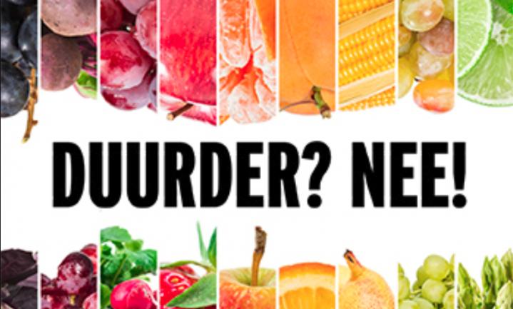 '80% Nederlanders wil lagere btw op groente en fruit'