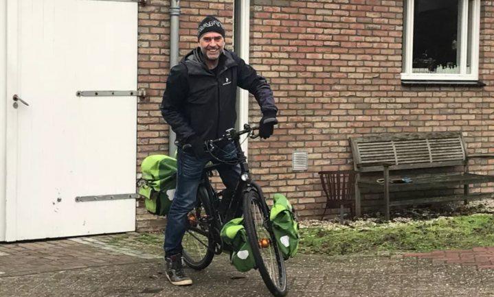 Nieuwsgierig en vol respect op de fiets langs de boeren