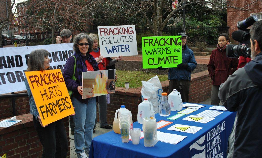 Zou jij biologische sla met schaliegaswater kopen?