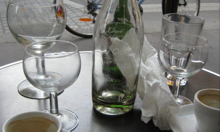 Generatiekloof kenmerkt Franse drinkgewoonten