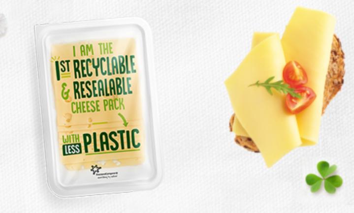 pLESStic: FrieslandCampina maakt een recyclebare kaasverpakking waar je later mee kunt stofzuigen