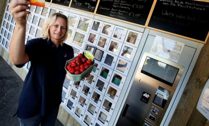 Verse streekproducten uit 'fruitautomatiek'