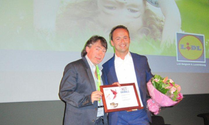 Lidl België krijgt Europese diervriendelijkheidsprijs