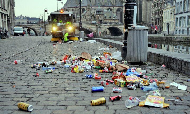 Gent en Antwerpen willen cameratoezicht tegen zwerfvuil als doekje tegen moreel bloeden burger