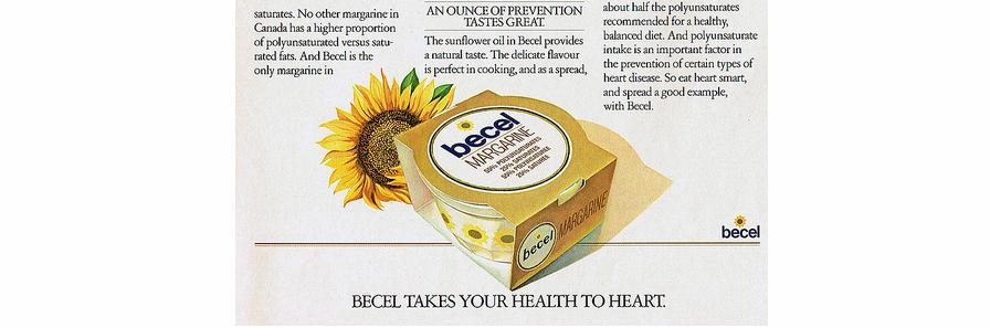 Waarom Becel gezond heet maar niet werkt