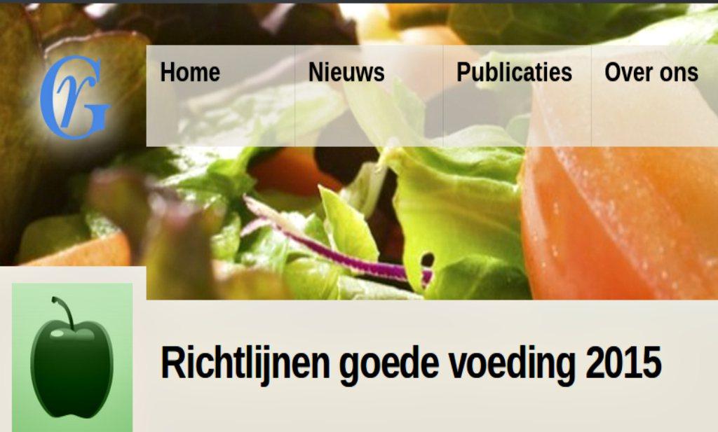 Gezondheidsraad: 'Eet meer plantaardig, drink suikervrij'