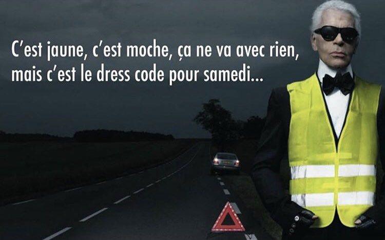 Driekwart van de Fransen steunt de 'gele vestjes' uit zorgen voor hun dagelijkse kost