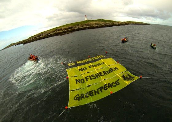 Greenpeace sluit akkoord met 'aartsvijand' trawlervisserij