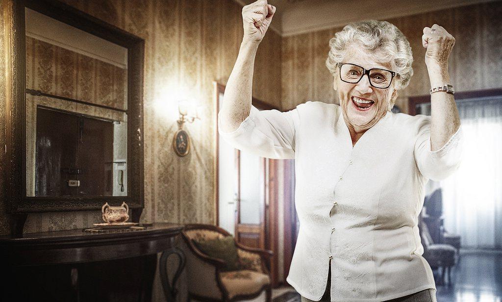 'Vrouwen pas na hun 85e gelukkiger dan mannen'