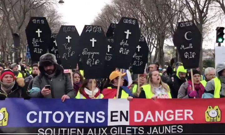 Niet minder gele hesjes na start Grand débat in Frankrijk