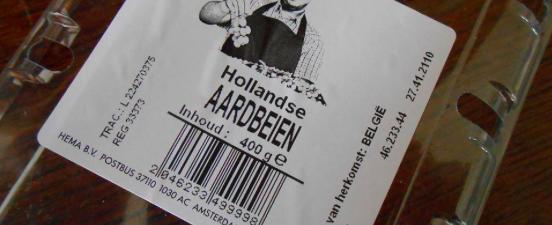Hollandse aardbeien uit België