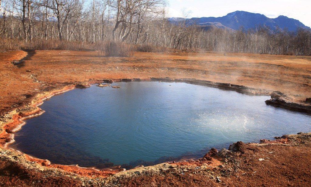 Prehistorische mens 'kookte' mogelijk in heetwaterbronnen
