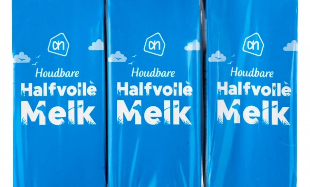 Houdbare melk bij Belgische Albert Heijn 'zuur' volgens boeren