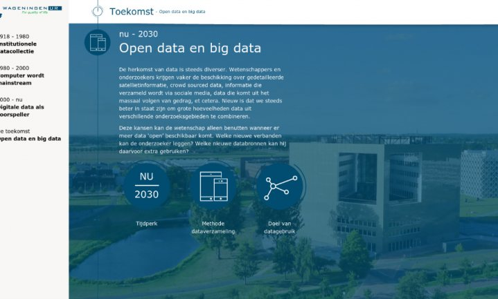 Wageningen zet in op Big Data