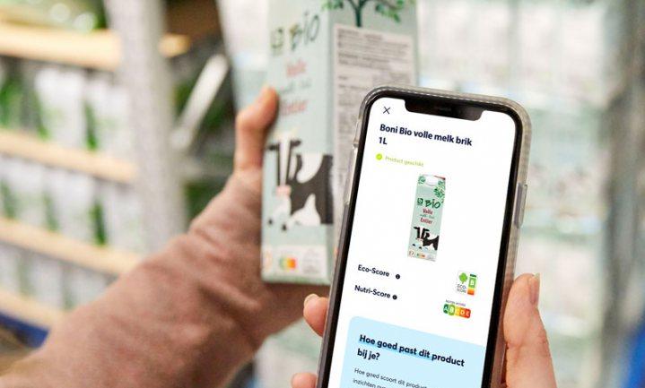 Colruyt helpt klant met Eco-Score duurzame keus maken