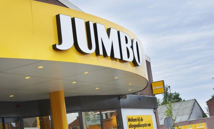 'Jumbo ontgeelt'