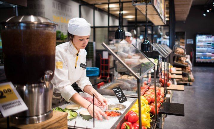 Verwarrende Groningse Foodmarkt City wordt gewone Jumbo met achterin een kantine