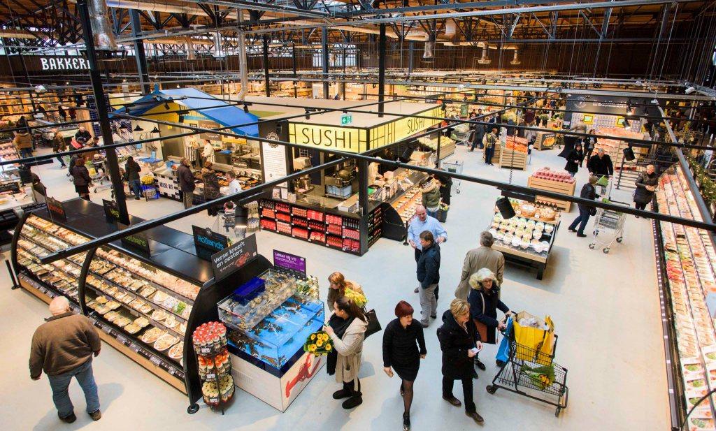 'Jumbo opent Foodmarkt in voormalige V&D Nijmegen'