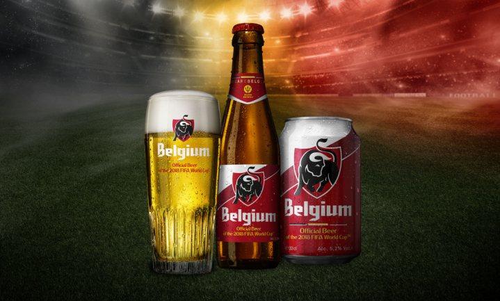 Belgisch voetbalbier heet Belgium
