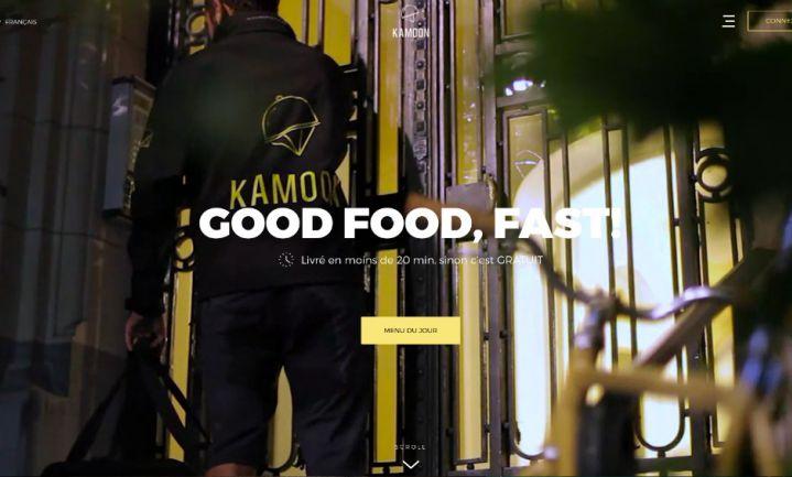 Belgische maaltijdbezorger al vóór bestelling op pad
