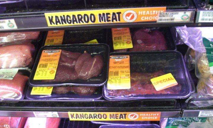 Kangoeroe niet meer bij Carrefour