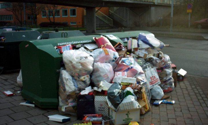 Afvalberg groeit Vlaanderen boven het hoofd