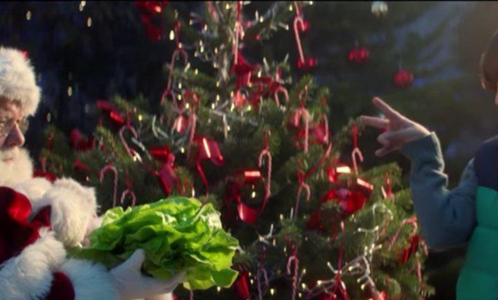 Intermarché zet Kerstman op dieet