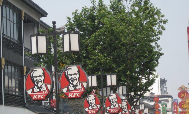 Chinese overheid laat oog vallen op KFC en Pizza Hut