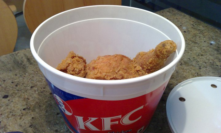 KFC gaat slimmer om met klant en voedselverspilling