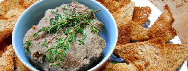 Nep-foie gras ofwel kippenlevertjespaté