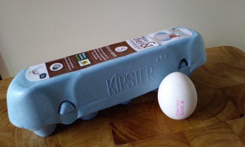 Circulair Kipster-ei start in de VS met 30 miljoen eieren
