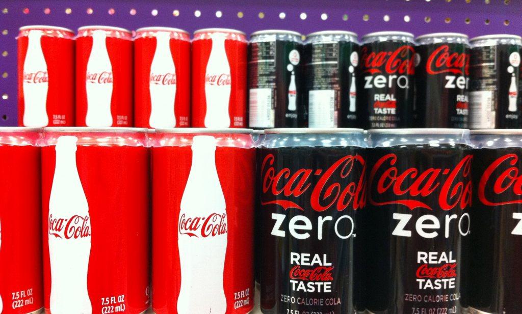 Giga-caloriereductie merkproducten verminderde obesitas niet