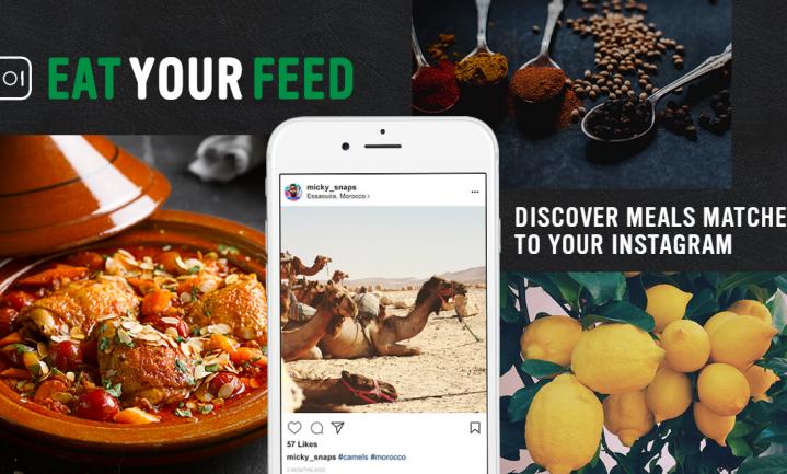 Knorr vertaalt jouw Instagramfoto's in recepten, zelfs als je uit eten gaat