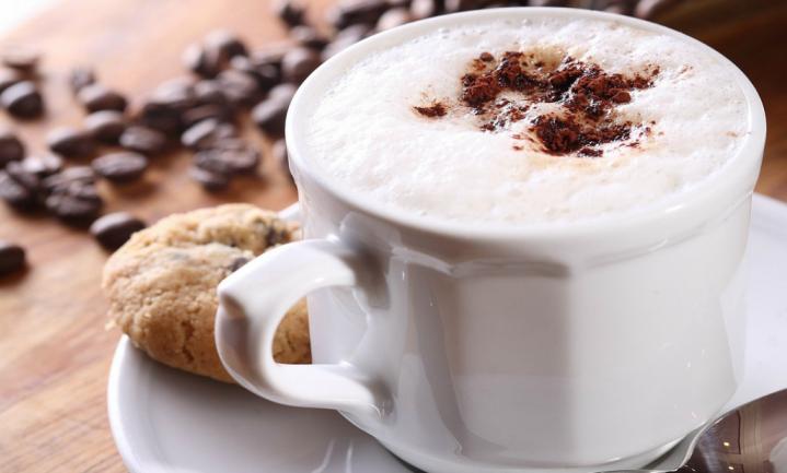 Klontjes melk voor in de koffie