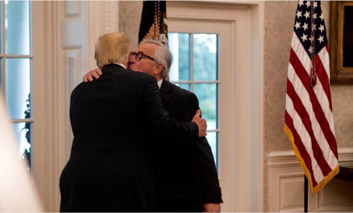 Juncker: sojadeal met Trump 'was een ingeving' en 'het gaat niet om gentech soja'