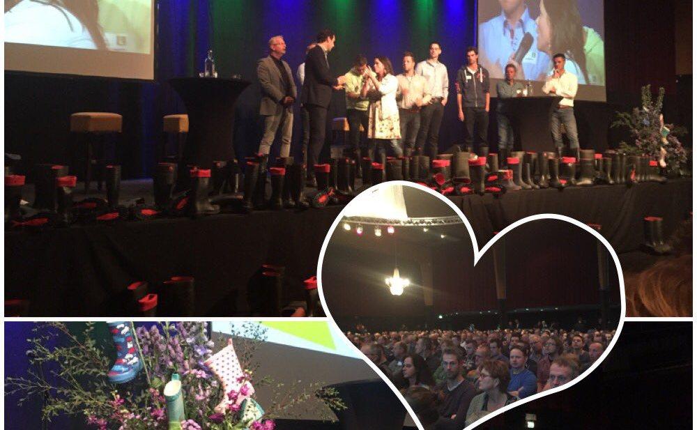 Van Dam wint in Zwolle respect melkveehouders
