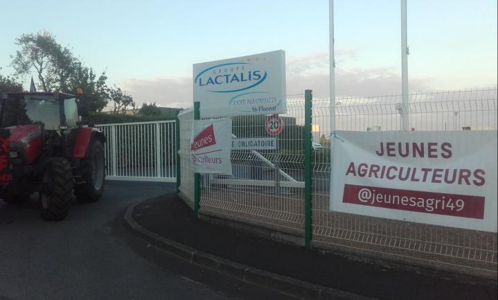 Franse minister kan baas melkfabriek niet bellen