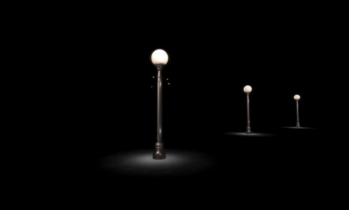 Licht in de nacht hindert insecten