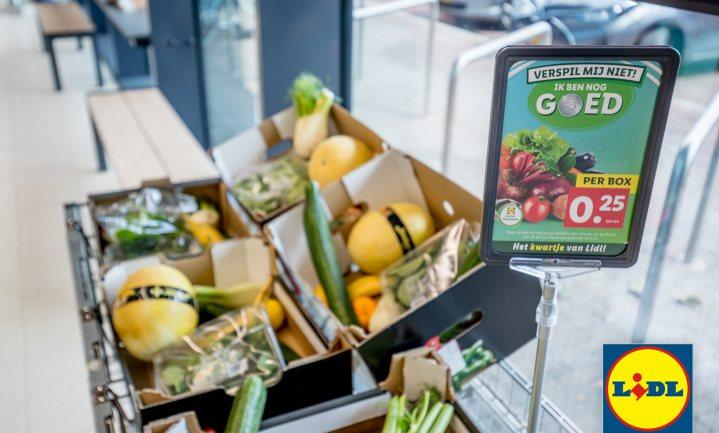 Voedselverspilling als koopjesjacht en publiekstrekker: het kwartje van Lidl