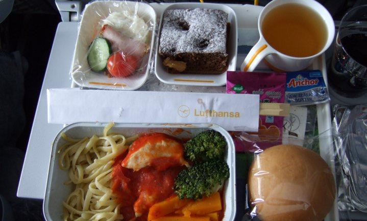 Vliegtuigeten voor thuis, van Lufthansa