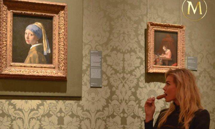 Een Magnum uit het Mauritshuis