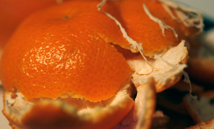Makkelijke mandarijnen bijna op