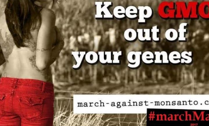 Anti-Monsantomars tegen gentech in het algemeen