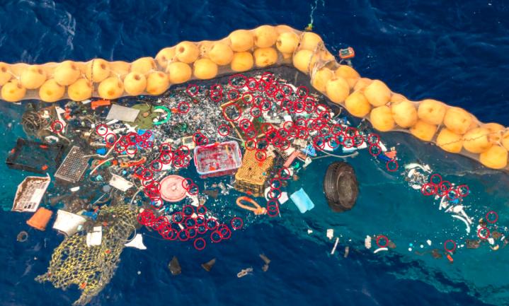 Plasticvanger Boyan Slat vangt zeeleven mee
