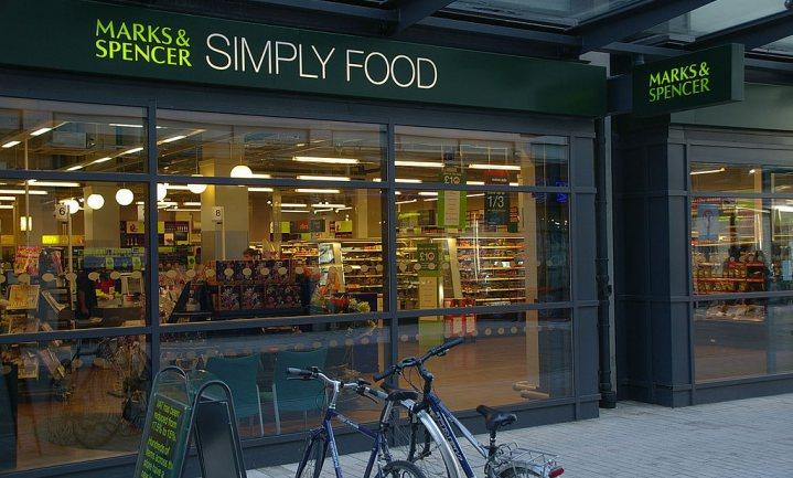 Marks & Spencer viert veggievegakerst