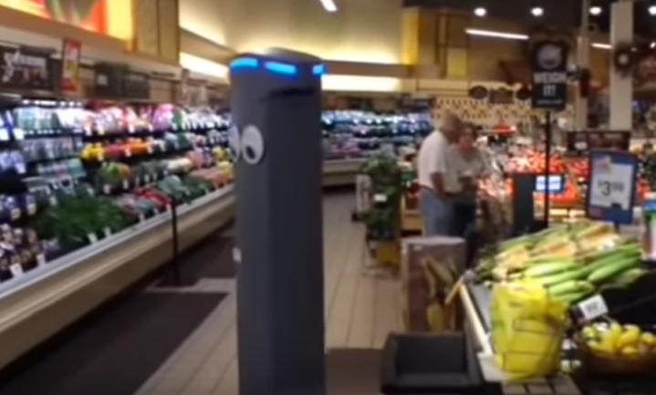 Ahold Delhaize huurt in VS 500 robots in als winkelassistent