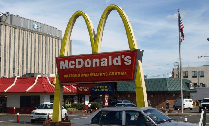 Scheel kijken voor McNuggets reclame