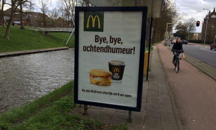 McDonald's eerder open voor ontbijt