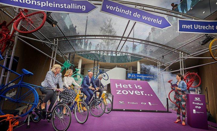 Grootste fietsenstalling ter wereld geopend in Utrecht