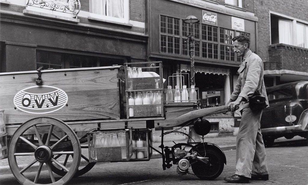 Moderne 'melkboer' helpt multinationals verpakkingsafval beperken én de winkelier omzeilen